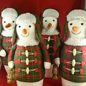 Set of 4 Wondershop Snowman